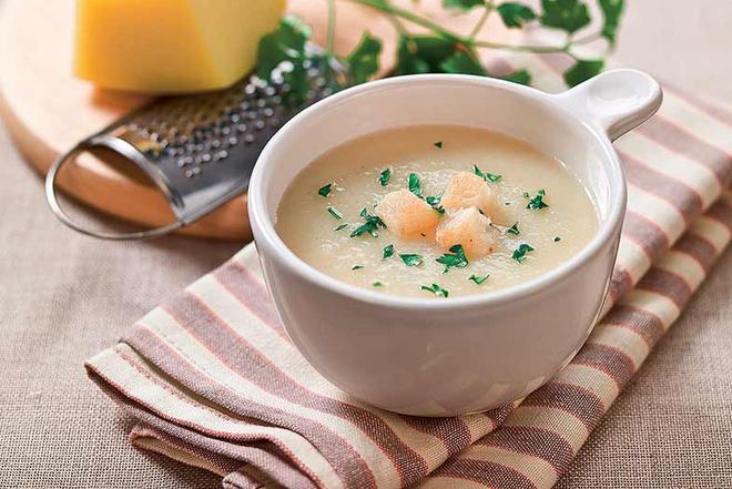 Суп с сливочным сыром