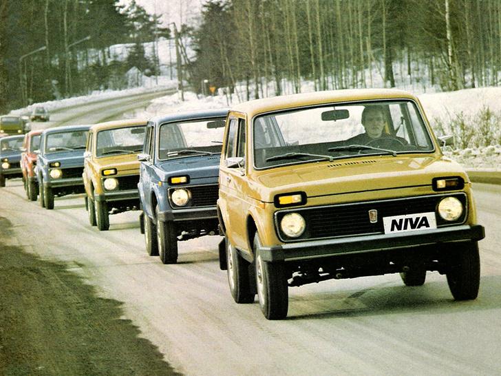 Фото №3 - 9 фактов о «Ниве», лучшем автомобиле СССР