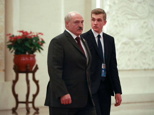 Александр Григорьевич и Николай Лукашенко