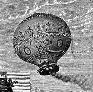 Фото №1 - Установлен рекорд воздухоплавания на шаре с открытой корзиной