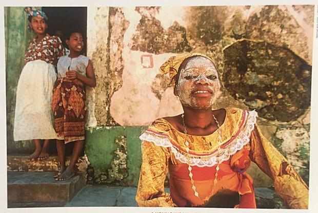 Фото №1 - Маска «муссиро», или Почему в Мозамбике женщины прекрасны