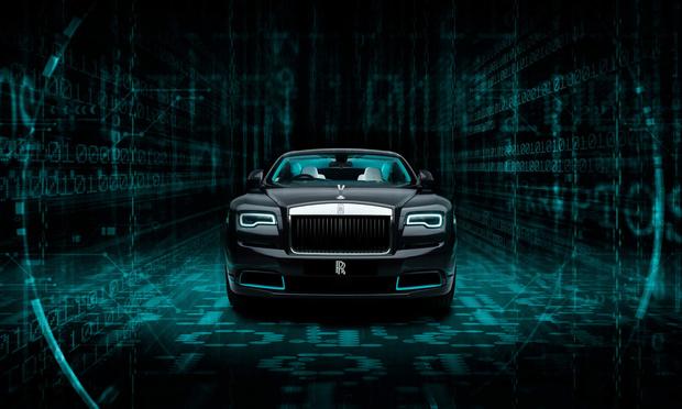 Фото №1 - «Элементарно, Ватсон?»— Rolls-Royce выпустил автомобиль с секретным посланием