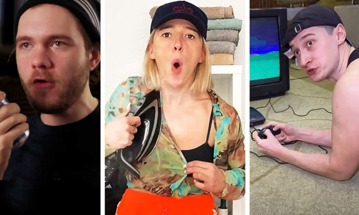 Фото №1 - Самые смешные видео российских комиков за первую рабочую неделю
