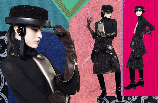 Фото №11 - Коллажи Карла Лагерфельда: креативная кампания Chanel FW 16/17