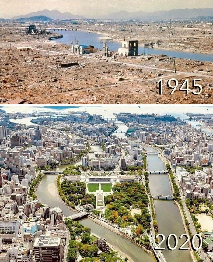 Фото №12 - 10 пейзажей, которые неузнаваемо изменило время