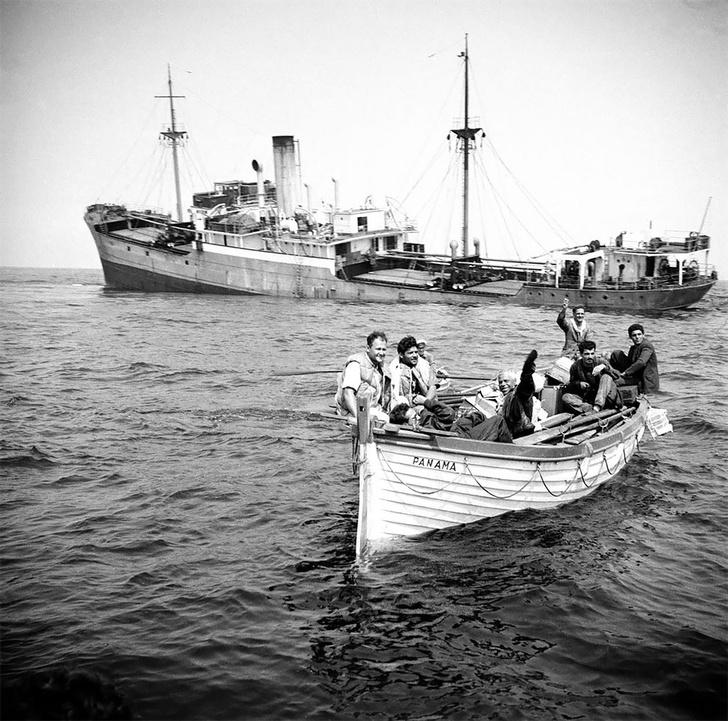 Фото №6 - Не повезло: старинные фотографии кораблекрушений