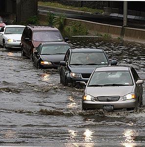 Фото №1 - Нью-Йорк затопило