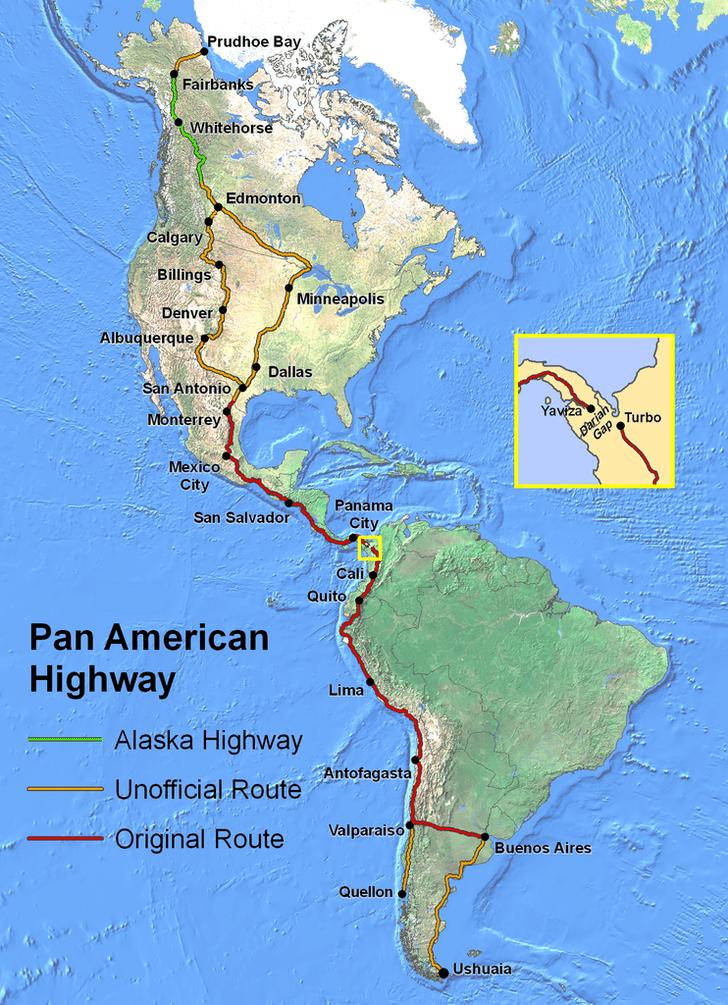 Фото №1 - Что такое Панамериканское шоссе?