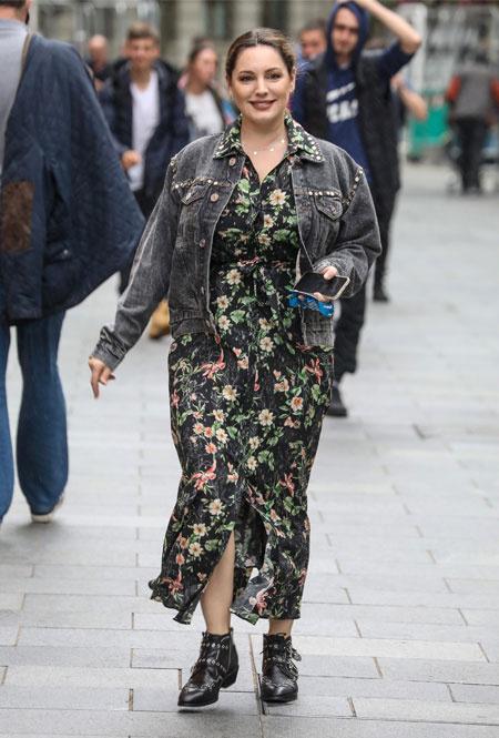 Келли Брук в Лондоне