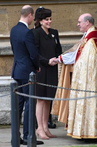 Фото №3 - Никому не верь: герцогиня Кембриджская вышла из декрета (но всего на день)
