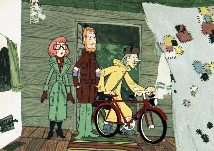 Фото №1 - Как выглядели бы персонажи советских мультиков, если бы были живыми людьми