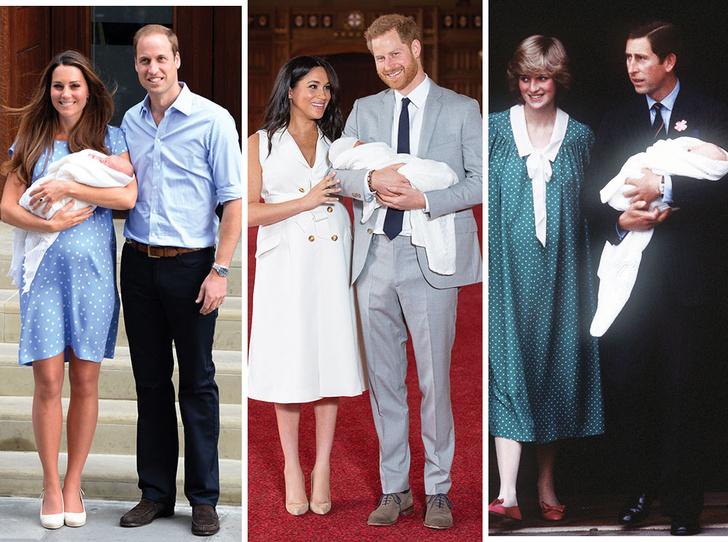 Фото №1 - Как Сассекские изменили традицию представления королевских наследников