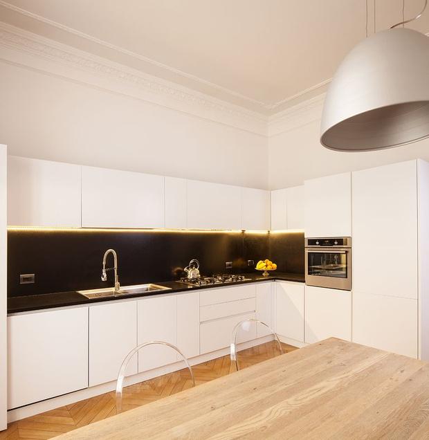 Фото №4 - Современная квартира в историческом доме в Риме