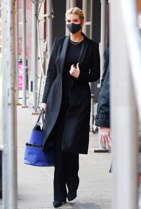 Иванка Трамп в Нью-Йорке