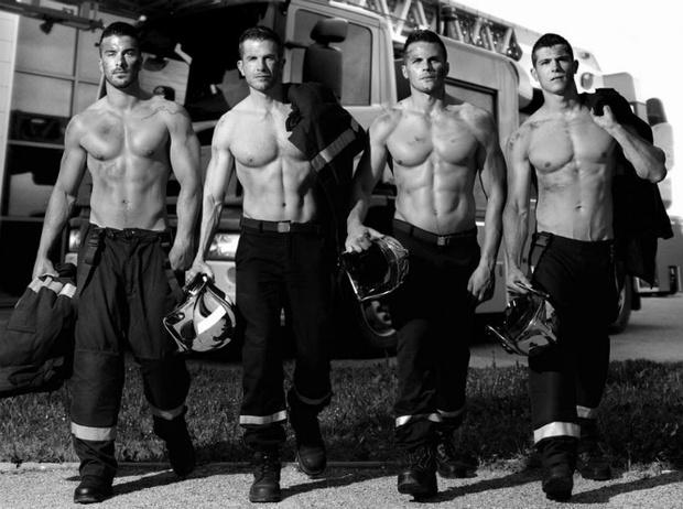 Фото №4 - Фотограф Фред Гудон показал французских пожарных с неожиданной стороны
