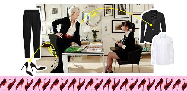 Фото №1 - Оденься, как героини фильма «Дьявол носит Prada»