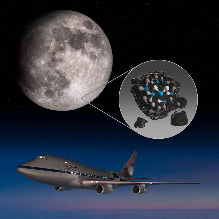 Фото №1 - НАСА подтвердило наличие воды на Луне