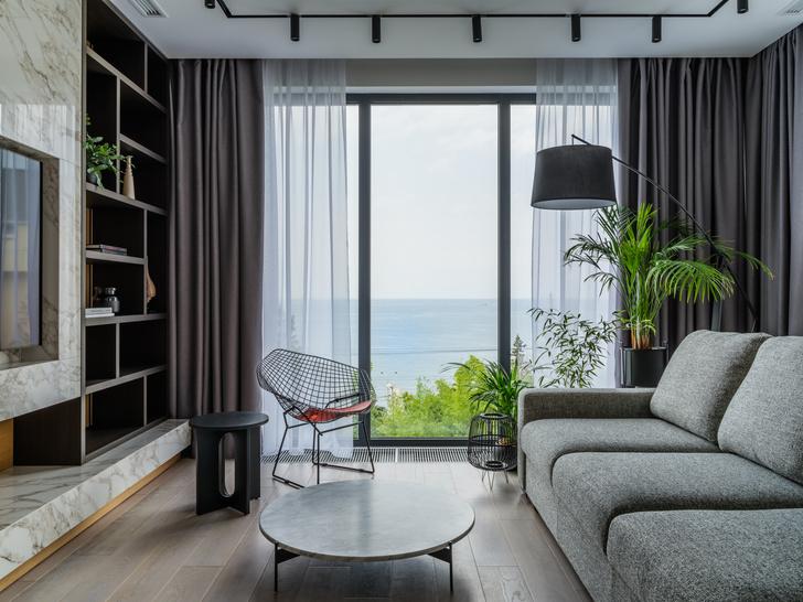 Фото №1 - Квартира 180 м² с видом на море в Сочи
