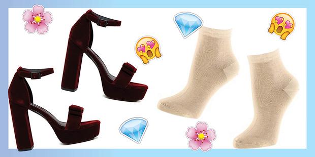 Фото №2 - Как сочетать носки с босоножками, туфлями и ботинками