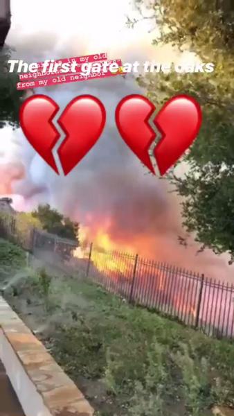 Фото №1 - Пожар в Калифорнии: дома знаменитостей превратились в пепелище