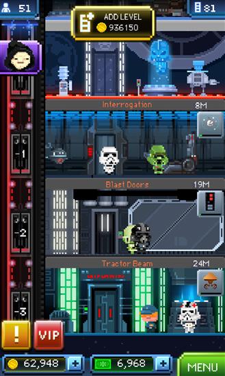 Star Wars: Tine Death Star приложение