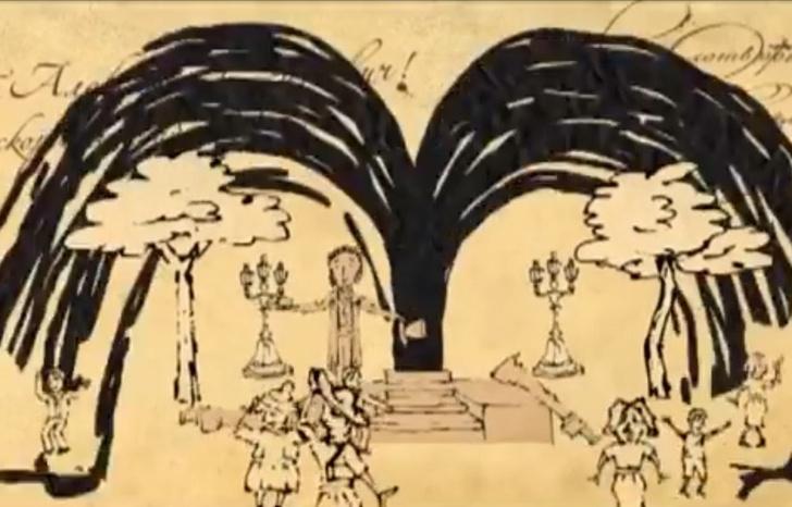 Фото №1 - Мультфильм от «Квартета И» из прежней жизни про наше всё: Пушкина, нефть и караоке