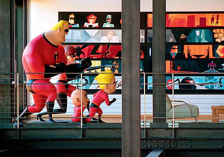 Фото №4 - Рабы лампы: прогулка по анимационной студии Pixar