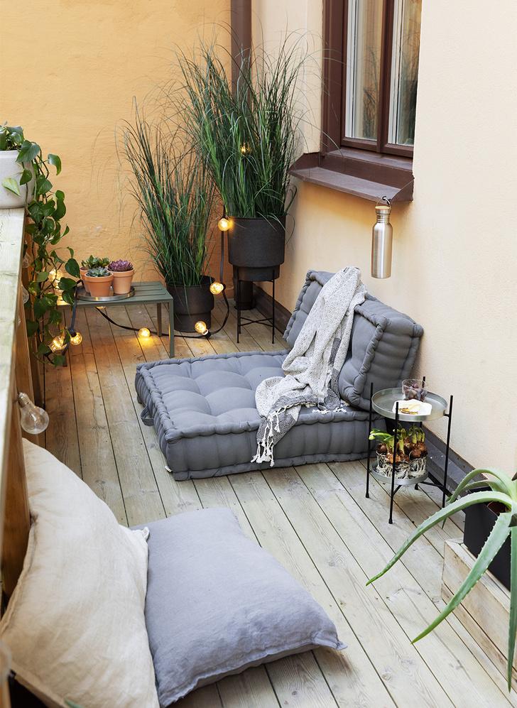 Фото №2 - 8 способов сделать балкон уютнее