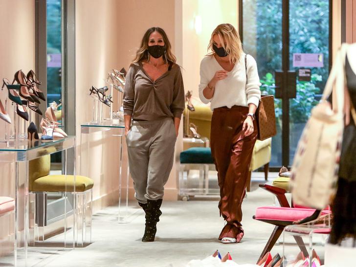 Фото №4 - Какой российской актрисе Сара Джессика Паркер подбирает обувь?