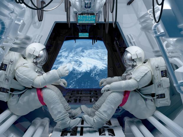 Фото №1 - Вы перехотите лететь в космос: ужасные вещи, ожидающие вас на МКС