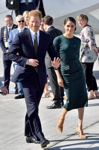 Фото №5 - Меган Маркл и принц Гарри прибыли в Ирландию