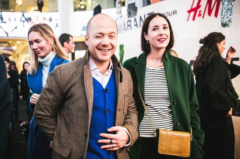 H&M, закрытый показ, Изабель Маран (Isabel Marant), Атриум, Евгений Стычкин