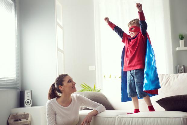 Фото №1 - Для чего детям нужны супергерои