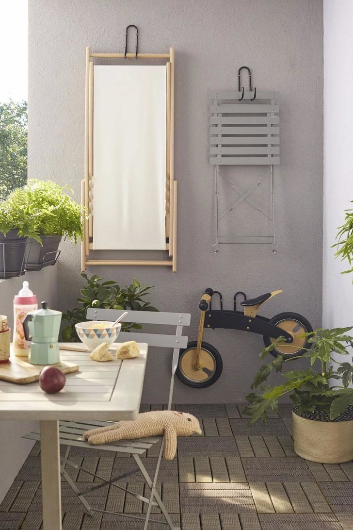 Фото №16 - Маленький балкон: полезные советы по оформлению