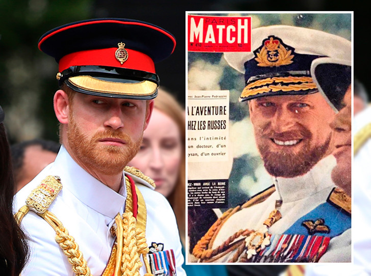 Фото №6 - Королевское сходство: принц Гарри и дедушка Филипп, герцог Эдинбургский