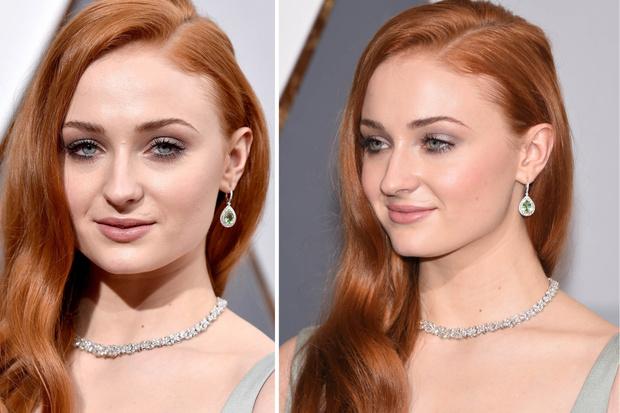 Софи Тёрнер оскар 2016 макияж