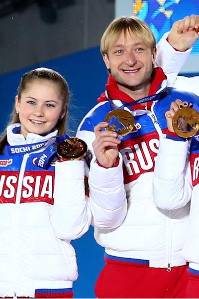 Юлия Липницкая (Yulia Lipnitskaya), Евгений Плющенко