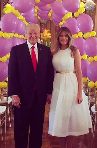 Фото №32 - Мелания Трамп: новые стандарты стиля Первой леди