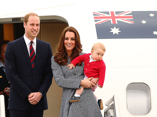 Фото №8 - Малыши-путешественники: первые зарубежные туры королевских детей