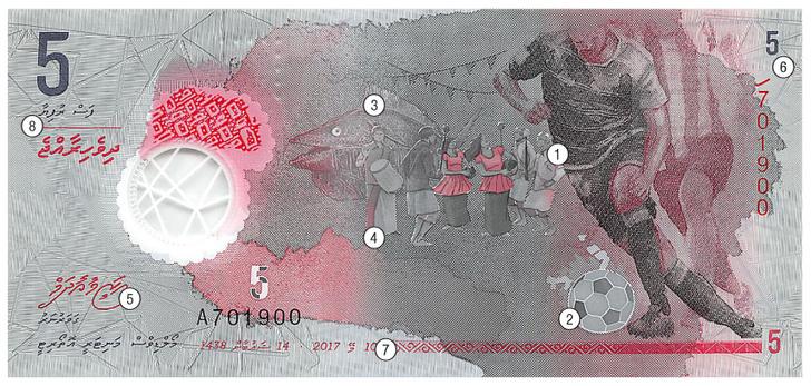 Фото №1 - Круговой обзор: Полимерное серебро, Мальдивская Республика