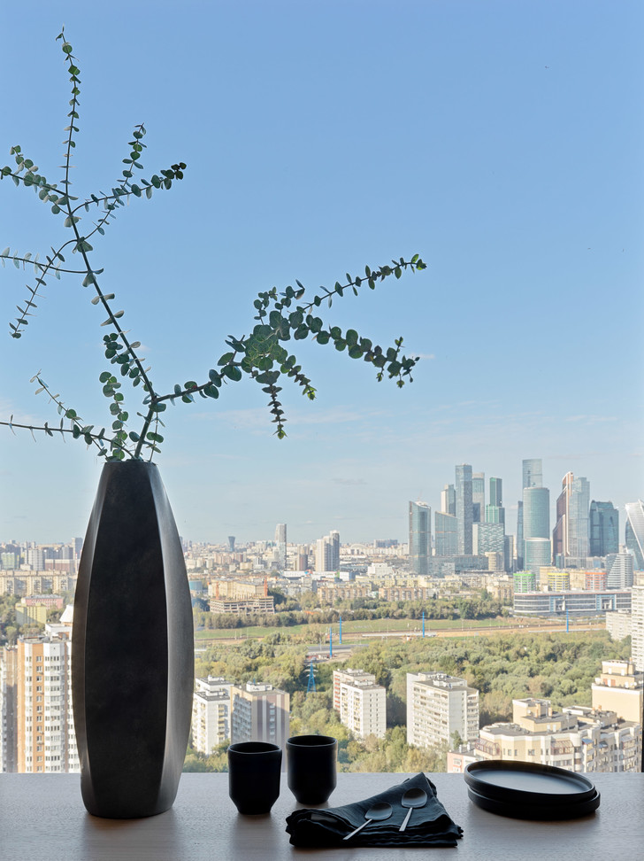Фото №1 - Витает в облаках: квартира на 26 этаже в Москве