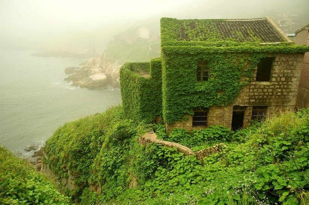 Фото №2 - Заброшенная рыбацкая деревня в Китае: 10+ впечатляющих фото