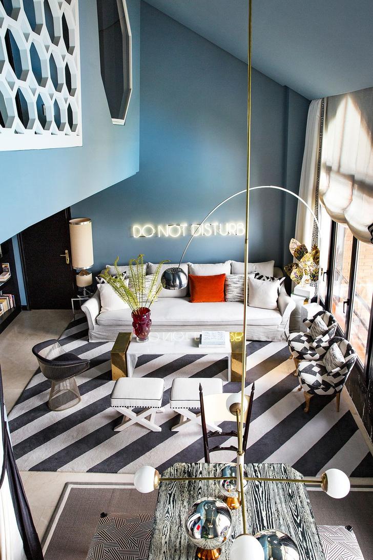 Фото №10 - Дизайнерский дуплекс в Мадриде
