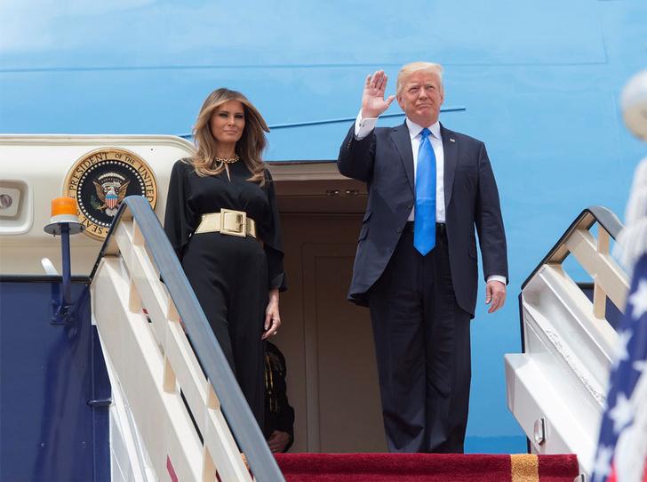 Фото №13 - Этикет первых леди: что можно (и нельзя) супругам президентов