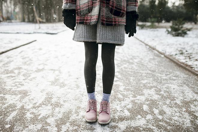 Фото №2 - Сильный минус: как носить демисезонную обувь зимой и не мерзнуть