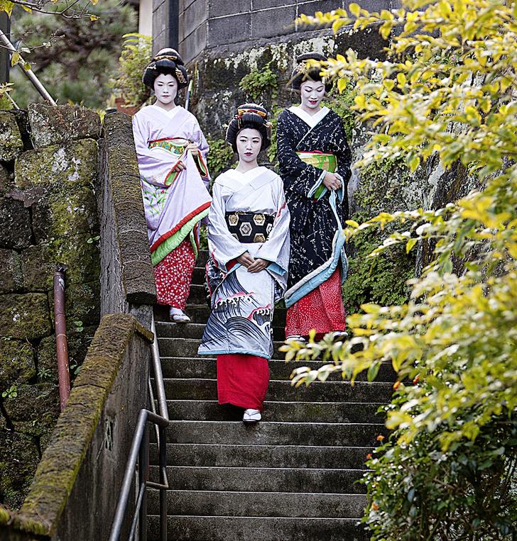 Фото №3 - Рабочий момент: под сенью сакуры в цвету