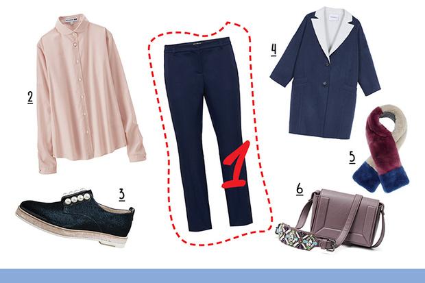 Фото №2 - С чем носить классические брюки