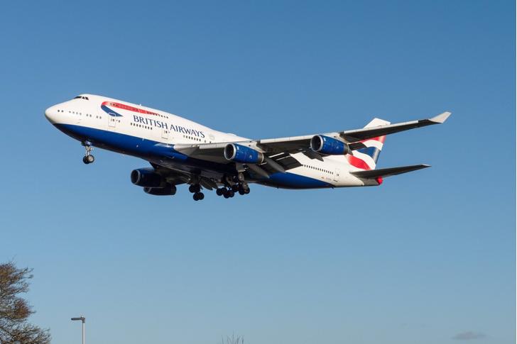 Фото №1 - Пассажирский самолет рекордно быстро преодолел Атлантику