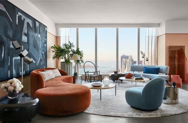 Фото №6 - Тренды 2021: диван + разноцветные кресла