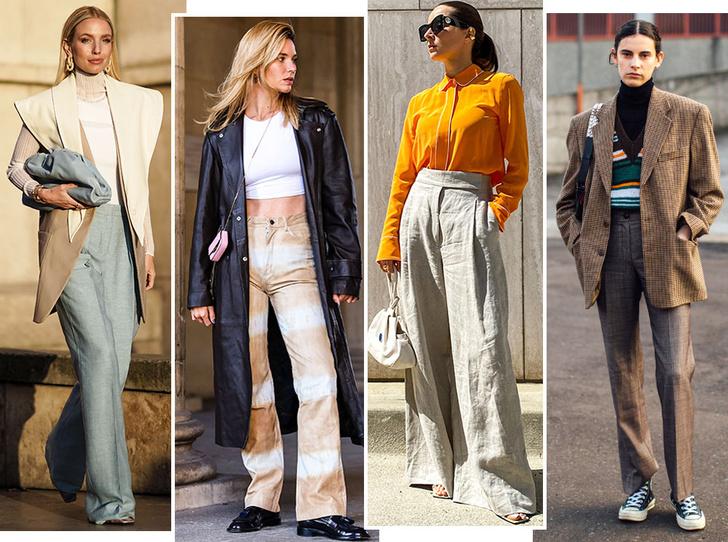 Фото №1 - 5 моделей брюк, которые делают ноги визуально длиннее